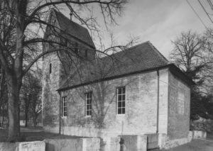 Kirche, Ansicht von Südosten, 1965