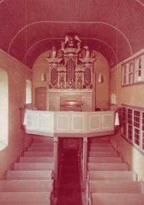 Kirche, Blick zur Orgel, 1965