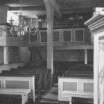Kirche, Blick zur Orgel, Foto: Ernst Witt, Hannover, 1959