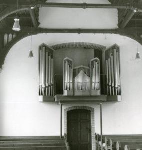 Kapelle, Blick zur Orgel, nach 1957