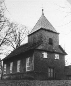 Kirche, Außenansicht, um 1960