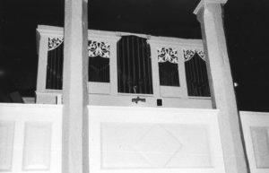 Orgel, 1979, Fotograf: Davin