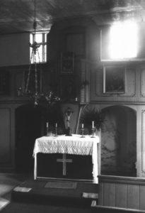 Alte Kapelle, Kanzelaltar, um 1960