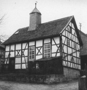 Alte Kapelle, Außenansicht, um 1960