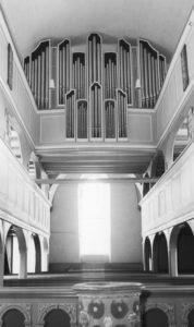 Kirche, Blick zur Orgel, nach 1961