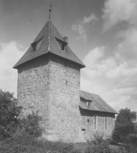 Kapelle, Ansicht von Südwesten