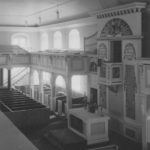 Kirche, Blick nach Südosten, Foto: Ernst Witt, Hannover, 1955 (nach der Renovierung)