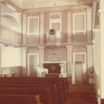 Kirche, Blick zum Altar, Foto: Ernst Witt, Hannover, 1954