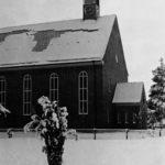Kirche, Ansicht von Nordwesten, Teilansicht, vor 1945