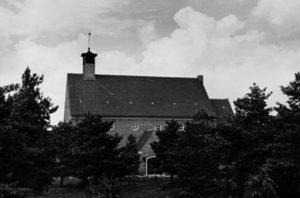 Kirche, Ansicht von Südwesten, vor 1945