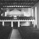 Kirche, Blick zur Orgel, vor 1945