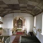 Kirche, Blick zum Altar, nach 1962, Fotograf: P. Greve, Jöllenbeck
