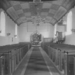 Kirche, Blick zum Altar, vor 1961