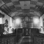 Kirche, Blick zur Orgel, vor 1961
