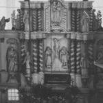 Altaraufsatz, um 1953