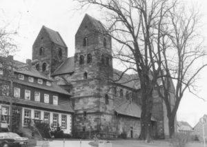 Kirche, Ansicht von Südwesten, 1983