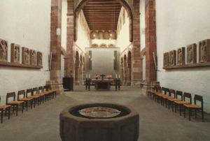 Kirche, Blick nach Westen