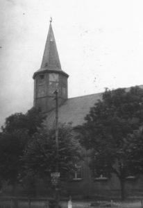 Kirche, Ansicht von Südosten, Teilansicht, um 1948