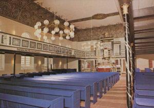 Kirche, Blick zum Altar, nach 1975