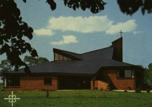 Neue Kirche, Außenansicht, um 1980