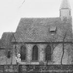 Kirche, Ansicht von Norden, 1961