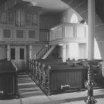 Kirche, Blick zur Orgel, Foto: Ernst Witt, Hannover, 1957