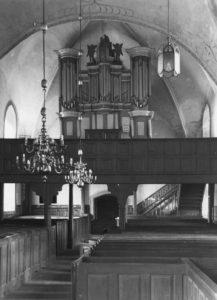 Kirche, Blick zur Orgel, vor 1956 (?)