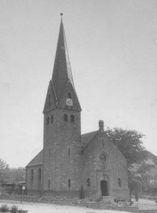 Kirche, Ansicht von Nordosten, 1957