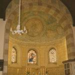 Kirche, Blick in die Apsis, 1985