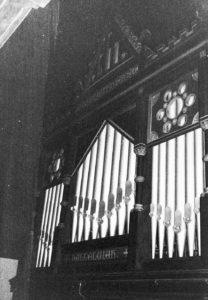 Orgel, Teilansicht, 1979
