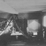 Schlosskapelle, Blick zum Altar, um 1900