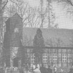 Kirche, Ansicht von Südwesten, Teilansicht, 1967