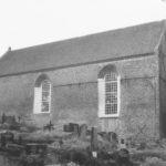 Kirche, Ansicht von Südosten, um 1964